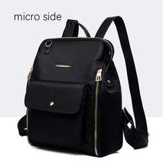 Bag · Oxford Cloth Backpack Female Nylon Canvas Large Capacity Ladies  Backpa – Obangbag 1c2d7f067de23