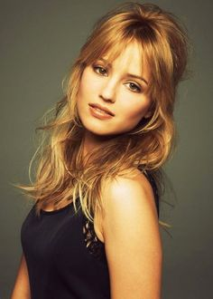 Dianna Agron... These bangs! …