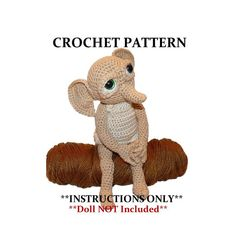 Elf  Crochet PATTERN  Hobby the House Elf  - Doll NOT Included