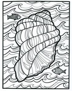 Can you hear the ocean? Here's another FREE printable from our classic Let's Doodle book! This Educational insights fave is a much-requested product by parents and teachers. #printables #coloringpages