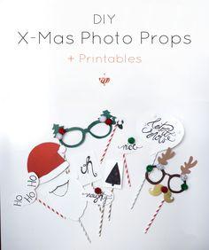 Für noch mehr Spaß und beknackte Fotos unterm Weihnachtsbaum #fotobooth