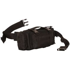 f85fe26721a4 Maui and Sons Straight Shark Adult Fanny Pack Black >>> You can find ...