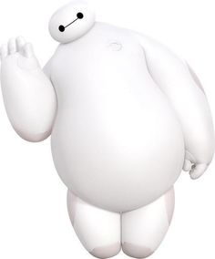 Baymax from Big Hero 6 Disney Pixar, Disney And Dreamworks, Disney Magic, Disney Art, Disney Movies, Big Hero 6 Characters, Movie Characters, Big Hero 6 Baymax, Hiro Hamada