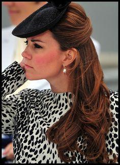 Kate Middleton - Kate Middleton Christens a Cruise Ship