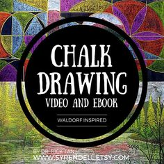 Ever wanted to learn how to create gorgeous chalk drawings? Check out our video and eBook in the Etsy store!