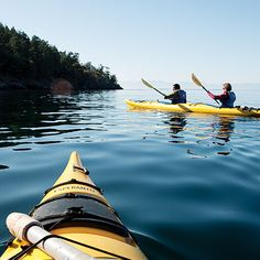 A few pals kayaked around the San Juan islands one summer. I plan to hit them up for tips.