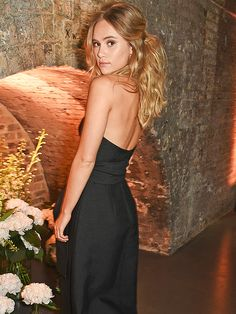 Star Tracks: Friday, July 24, 2015 | PICTURE PERFECT  | Suki Waterhouse plays coy with photographers at Amazon's fashion photography studio, where she was the guest of honor inside the Thursday launch party in London.