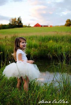So cute. love the mix of fairy tale and farm.