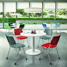 KONTRAKTNÍ ŽIDLE Výroba vlastních kontraktních židlí přímo v Itálii započala v roce 2015. Záruční lhůta 5 let. Židle nabízíme v mnoha designech - jednoduchých, technických, designových s rozmanitými barvami. Využití těchto židlí je v komerčních prostorách, jako jsou restaurace, bary a jednací místnosti. Většina komerčních židlí jsou stohovatelné.