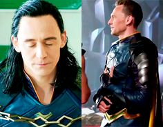 Tom as Loki/ Loki as Tom