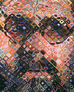 Chuck Close -too cool!