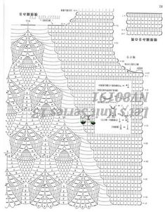 Best 12 Graph for crochet vest. Crochet Tank Tops, Crochet Tunic, Freeform Crochet, Crochet Clothes, Crochet Lace, Lace Tunic, Filet Crochet, Camisole, Crochet Video
