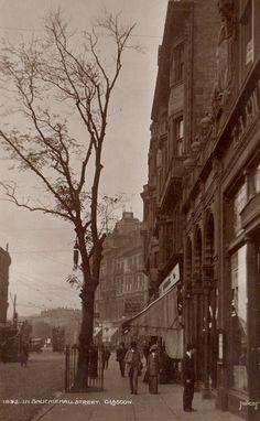 Sauchiehall Street at Charing Cross 1892