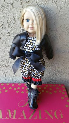 Check out this item in my Etsy shop https://www.etsy.com/listing/508643625/edgy-luxury-18-inch-doll-clothes-halter