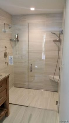 0070 simple curbless shower ideas for your house
