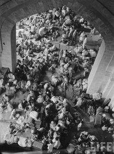 Refugee Camp in Pakistan,at the time of the population were refugees from India,burdening a very weak evonomy.People thought Pakistan will fail,still standing today,Alhamdulillah. Rare Photos, Vintage Photographs, Old Photos, History Of Pakistan, India And Pakistan, Mundo Cruel, Colonial India, Vintage India, Mysterious Places