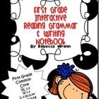 This interactive reading, writing, and grammar notebook is common core aligned and also aligned with Reading Street Sam Come Back.