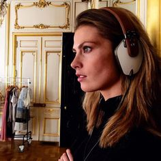 We just launched at @colette and beautiful model @manoukkroes is enjoying a moment of relax after a day of shooting in Paris with her new #PRYMA headphones  #PRYMAstyle #PRYMA #paris #france #colette #fashion #model #modellife #style #chic #headphones by pryma