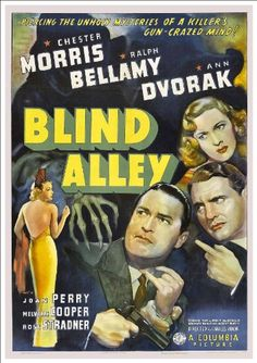 Blind Alley 1939 Film Noir movie NEW fine art giclee print poster Ralph Bellamy Old Movie Posters, Movie Poster Art, Dolby Digital, Old Movies, Vintage Movies, Turner Classic Movies, Columbia Pictures, Movies To Watch, Film Noir
