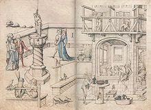 """Das Badehaus"", Hausbuch Schloss Wolfegg"