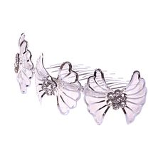 Women's/Flower Girl's Alloy/Net Headpiece - Wedding/Special Occasion/Casual Hair Combs 1 Piece – USD $ 4.99