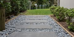 Use decorative garden pebbles to line pathways through your yard or add them to your potted plants, outdoor water features, fire places and pool or feature walls. Choose the right pebbles to suit your design and they will add that special touch to your landscaping project.  #stonepebbles #gardenpebbles #stonepebbles #armstone #steppingstones