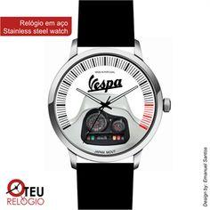 Mostrar detalhes para Relógio de pulso OTR VESPA MOTO 008
