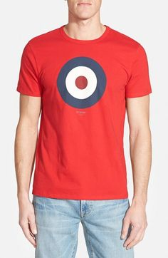 Ben Sherman 'Basic Target' Graphic T-Shirt available at #Nordstrom