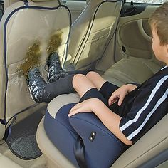 Back of Seat Protector for Cars 2-PackLeaps And Bounds Kids