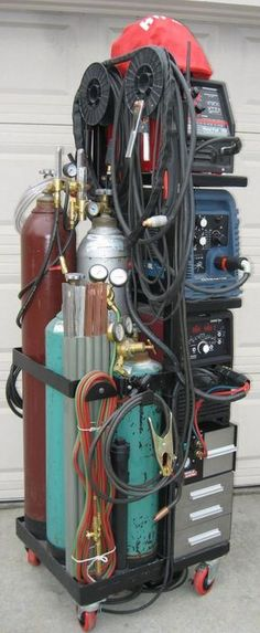 At the Welding Tips and Tricks forum, we're all about helping each other out with TIG, MIG, and Stick questions and projects. Welding Cart, Welding Shop, Welding Rigs, Welding Table, Metal Welding, Diy Welding, Metal Projects, Welding Projects, Diy Projects