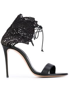 CASADEI embroidered sandals. #casadei #shoes #sandals