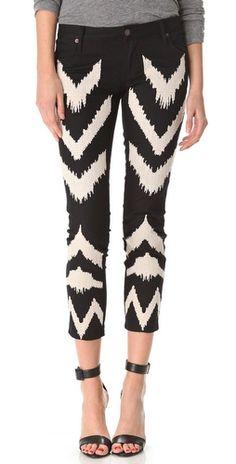 Black and White Jeans | Sass & Bide