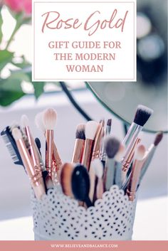 In light of the holiday season, I wanted to create a gift guide for the modern woman who loves rose gold. I spent hours scouring Amazon (because, hello… Amazon Prime is awesome) and I found the following 20 items that I think you'll love!