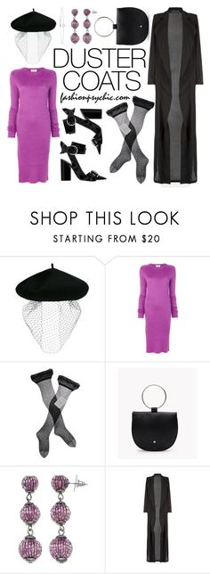 """""""Duster Coat"""" by fashionpsychic ❤ liked on Polyvore featuring Silver Spoon Attire, Ports 1961, Gerbe, Été Swim, Simply Vera, Lee Renee and DusterCoats"""