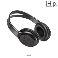 iHip High Definition Bluetooth Wireless Headphones with Built-in Mic - Assorted Colors