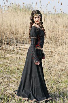 Lady Hunter – Medieval Renaissance Cotton Dress