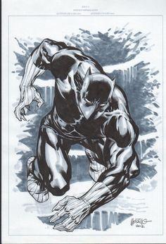 Jesus Merino - Black Panther Comic Art