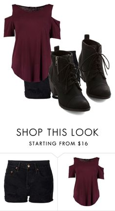 """Untitled #10106"" by xxxlovexx ❤ liked on Polyvore featuring NSF and Boohoo"