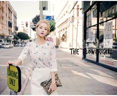 chuu_츄 - 츄(chuu) | 플로랄 향기 가득 blouse | TOP