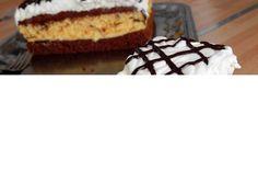 Prajitura pandispan in doua culori Pie, Desserts, Torte, Tailgate Desserts, Cake, Deserts, Fruit Cakes, Pies, Postres