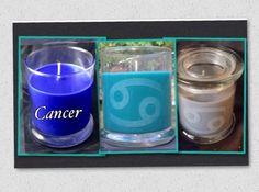 A personal favorite from my Etsy shop https://www.etsy.com/listing/235669402/cancer-zodiac-candles-cancer-symbol