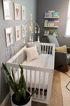 Such a sweet and simple modern nursery!