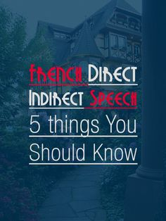 Updated: French Direct and Indirect Speech: 5 Things You Should Know French Language Lessons, French Language Learning, French Lessons, French Teaching Resources, Teaching French, How To Speak French, Learn French, Direct And Indirect Speech, French Sentences