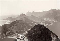 Vista do Pão de Açúcar, 1890 (Foto: Marc Ferrez)