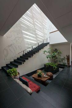 Skewed House Location Surat, Gujarat Area of plot sq ft Built-up area sq ft Architecture Design Firm : Studio Lagom Principal architect: Hardik Shah Design team: Sweta Gajiwala Doriwala