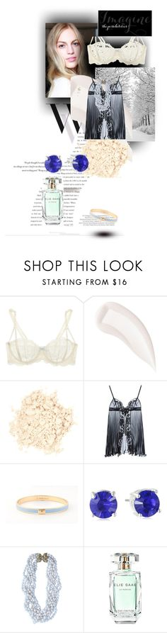 """""""invierno"""" by mayiluz ❤ liked on Polyvore featuring Balenciaga, Elle Macpherson Intimates, By Terry, Laura Mercier, Christies, Nine West and Elie Saab"""