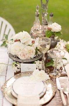 Downton Abbey Wedding Inspiration - Loverly