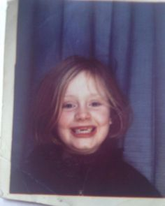 """Hello from back in the day! Adele shared this adorable throwback photo oh herself as a little on Instagram with the caption, """"Throwing it way back with this! Thank you for all the love, I am so blown away. X #TBT."""" The 27-year-old singer recently released """"Hello,"""" her first single in three years, which scored record views on YouTube."""