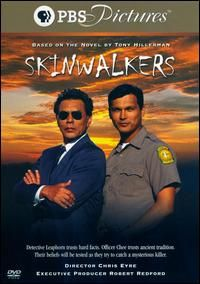"""Skinwalkers The story revolves around the legend of the skin walkers or """"S Dubs"""", a folk legend from Utah about the spirits of murdered Indians returning to seek revenge upon those who disrespect the land. Native American Movies, Native American Warrior, American Actors, American Indians, American Art, Love Movie, Movie Tv, Pbs Mystery, Mystery Series"""