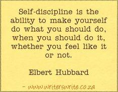 Quotable – Elbert Hubbard – Writers Write